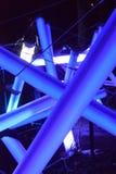 Lightshow de festival de lueur photo libre de droits
