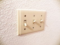 Lightswitch Royalty Free Stock Photos