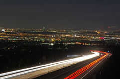 Lighttrails Stock Photography