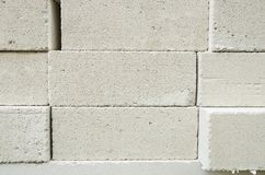 Lightweight brick. Stock Photo