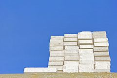 Lightweight concrete block Royalty Free Stock Photo