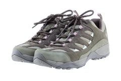 Lightweight Day Hiking boots (shoes) for women Royalty Free Stock Photography