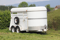 Lightweight Horse Trailer Royalty Free Stock Image