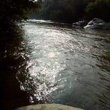 lighty河 库存照片