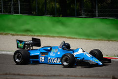 Ligier JS21 formel 1983 1 Royaltyfri Bild