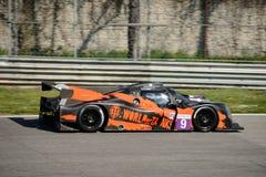 Ligier JS P3 - Nissan Le Mans Prototype at Monza. 2017 European Le Mans Series teams took part in a two days test session at the Autodromo Nazionale Monza Stock Photos