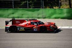 Ligier LMP2 prototypprov på Monza Arkivbilder