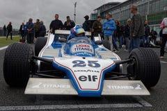 Ligier på rastret Arkivfoton
