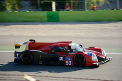 Ligier trägt den Prototyp zur Schau, der durch Nissan angetrieben wird stockfotos