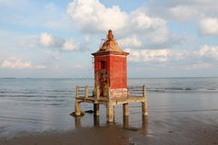 Lignano lighthouse Royalty Free Stock Photo
