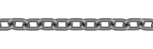 Ligne à chaînes en métal d'isolement illustration de vecteur