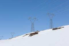 Ligne électrique Images libres de droits