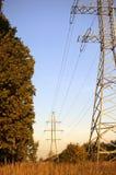 Ligne électrique photographie stock libre de droits