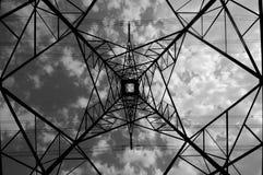 ligne électrique photo libre de droits