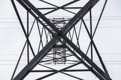 Ligne électrique de confiance Image stock