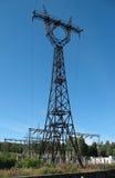 ligne électrique pouvoir Photo libre de droits