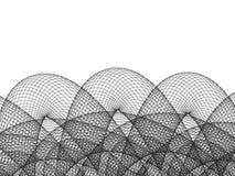 ligne élevée fil d'illustration de résolution Images stock
