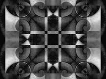 ligne élevée spirale d'illustration de résolution Image stock