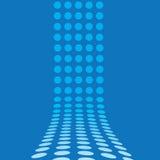 ligne 3d pointillée Images libres de droits