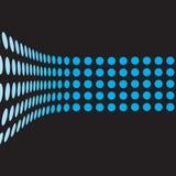 ligne 3d pointillée Image libre de droits