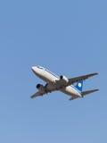 Ligne aérienne Belavia de Boeing 737-36 M Photo stock