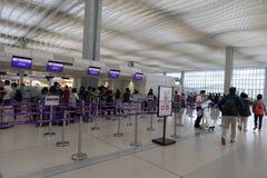 Ligne aérienne bonne marchée HK exprès Image libre de droits