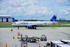 Ligne aérienne de Jetblue Photographie stock libre de droits
