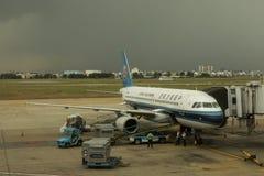 Ligne aérienne du sud de la Chine Photographie stock