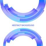 Ligne abstraite élément de conception de couleur. Illustration de vecteur. ENV 10 Photo libre de droits