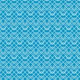 Ligne abstraite blanche modèle sur le bleu, vecteur illustration de vecteur