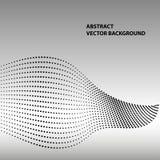 Ligne abstraite d'onde Ligne violette modèle Images stock