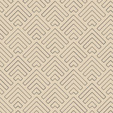 Ligne abstraite flèches modèle, vecteur Images libres de droits