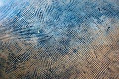 Ligne abstraite fond en métal photos stock