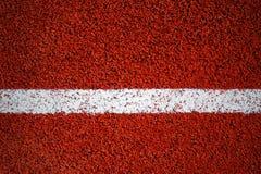 Ligne blanche sur une surface de texture courante de voie, fond, v Photographie stock