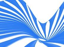 Ligne bleu-clair vagues Photos stock