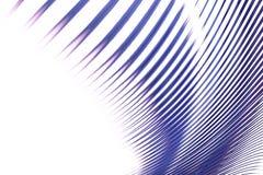 Ligne bleue abstrait Images libres de droits