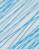 Ligne bleue abstraite fond de technologie de modèle Photographie stock