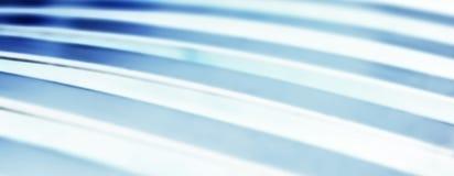 Ligne bleue de tache floue Photographie stock libre de droits