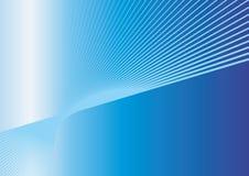 Ligne bleue de vitesse Images libres de droits