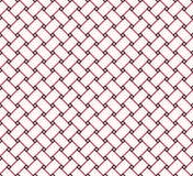 Ligne carrée moderne élégante barrière Grid Pattern Background de cube Illustration de Vecteur