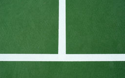 Ligne centrale de court de tennis Image stock
