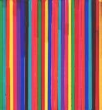 Ligne colorée multi tirée par la main fond de repère photos stock