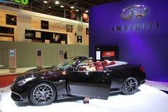 Ligne concept de rendement d'INFINI Images stock