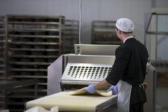 Ligne culinaire industrielle Image libre de droits
