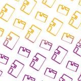 Ligne dégradée fond accessoire de textile de portefeuille de mode illustration libre de droits