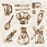 Ligne détail boulangerie de Digital d'art Photos libres de droits