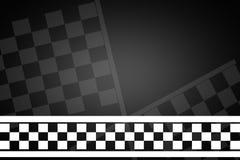 Ligne d'arrivée de texture de emballage de route Photos libres de droits