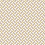 Ligne d'or barrière Grid Pattern Background de place de cube Photographie stock