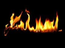 Ligne d'incendie Photographie stock libre de droits