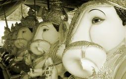 Ligne d'usine de Ganesha Image libre de droits